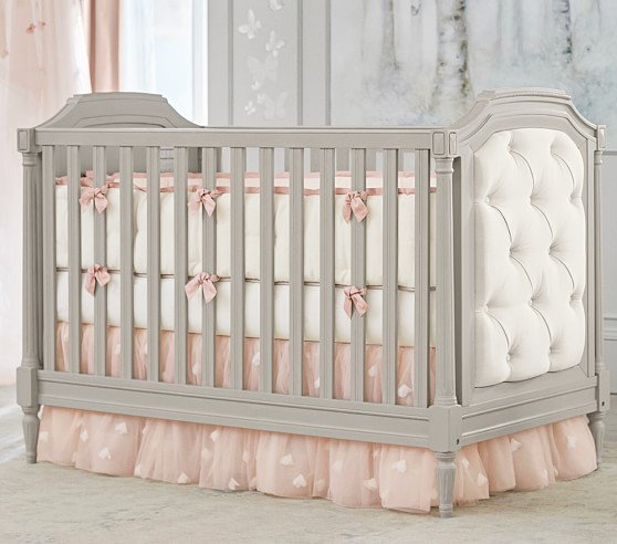 Monique Lhuillier Ethereal Baby Bedding Sets | Pottery Barn Kids