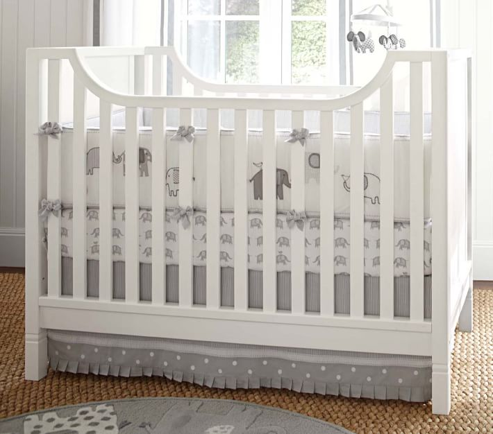 Taylor Elephant Baby Bedding Set | Pottery Barn Kids