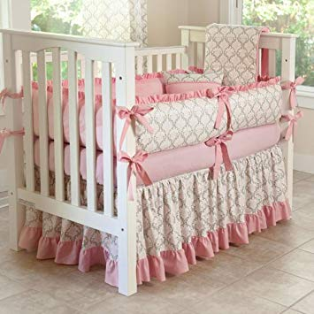Amazon.com : CUSTOM BOUTIQUE BABY BEDDING - Madison - 5 Pc Crib