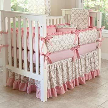 Amazon.com : CUSTOM BOUTIQUE BABY BEDDING - Madison - 5 Pc Crib
