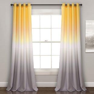 Mauve Bedroom Curtains | Wayfair