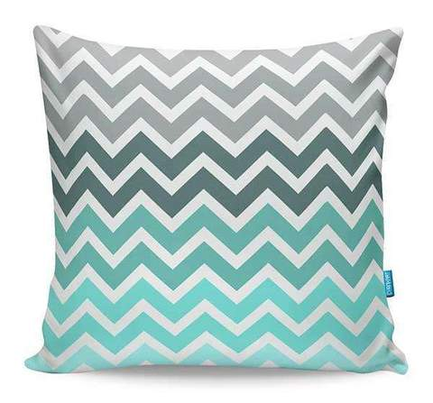 Buy Tiffany Fade Chevron Cushion Cover Online in India - Cyankart.com