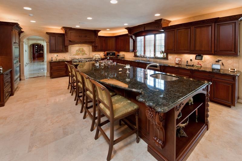 Custom kitchen island design - Kitchen Design