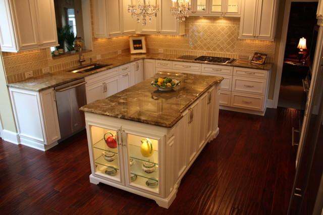 Custom Kitchen Island - Traditional - Kitchen - Cleveland - by