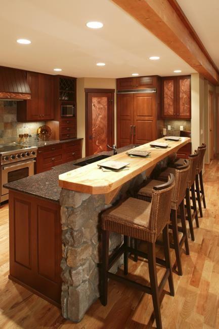 15 Custom Kitchen Islands for Beautiful Kitchen Designs | Kitchens