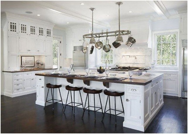 Large Custom Kitchen Islands | Eye Of The Pacific