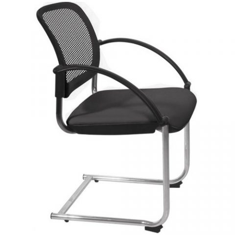 Popular mesh back conference meeting chair stackable visitor chair