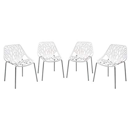 Amazon.com: Diamond Furniture PEPPERDCWH4PK Pepper 4-Pack Accent