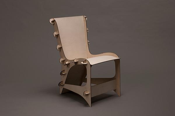 Laser Cut Chair on Behance