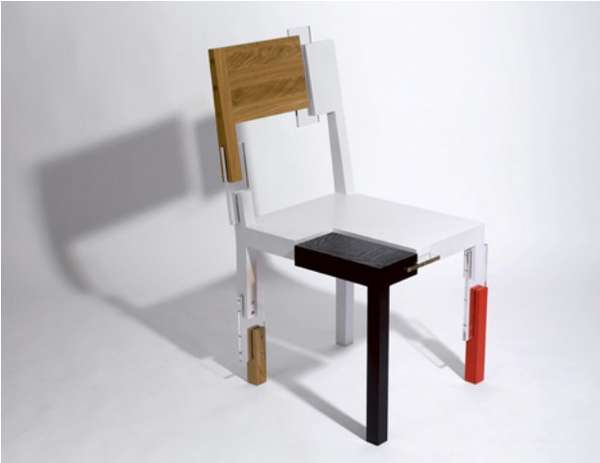 Odd Frankenstein Furnishings : Cut Paste Chair