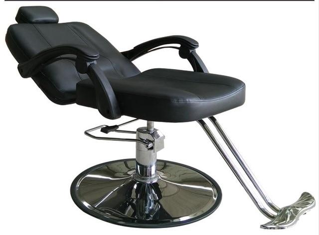 Barber chair hairdressing chair. Cut hair salon chair-in Barber