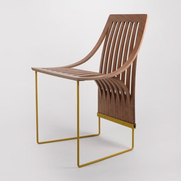 One Cut Chair - Plywood Furniture Design - Scott Jarvie | Home