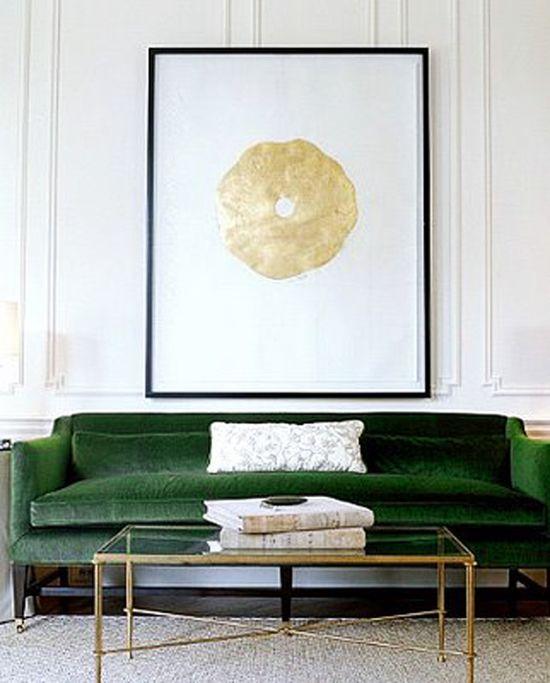 A Velvet Sofa - The Starting Point For My
