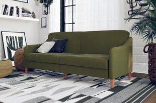 Dark Green Sofa | Wayfair
