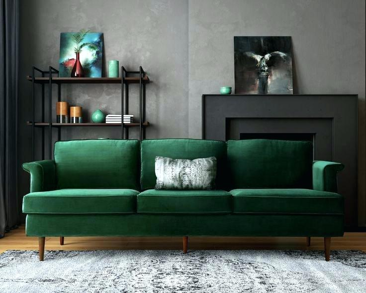 Have A Dark Green Sofa That Doesn T Work Try Pillows