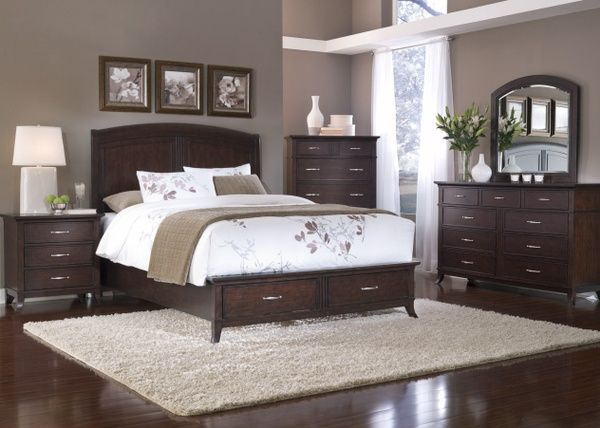 Choosing the appropriate dark wood bedroom furniture