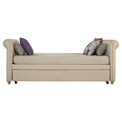 Sophia Upholstered Daybed & Trundle - Dorel Home Products : Target