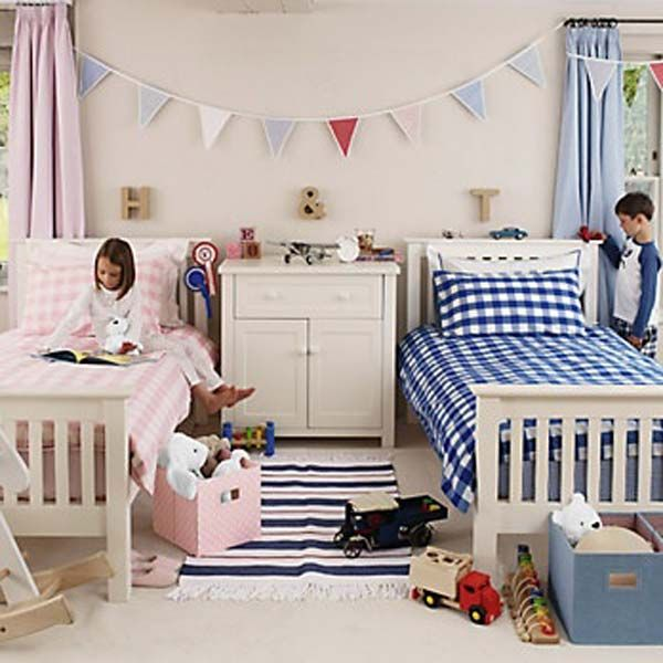 20+ Brilliant Ideas For Boy & Girl Shared Bedroom | Aidan & Sela's