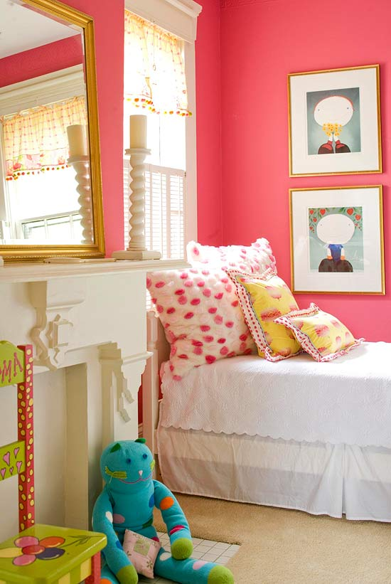 Create your kids dreamland by   decorating ideas for children bedroom