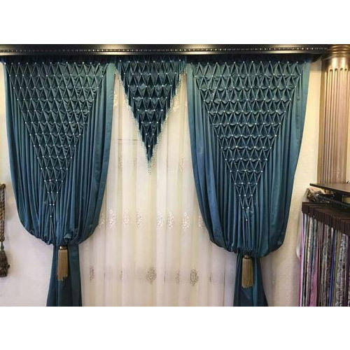 Silk Plain Designer Curtains, For Window, Rs 900 /piece, Dream Decor