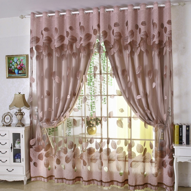 Ravishing designer curtains   reflecting my taste of art