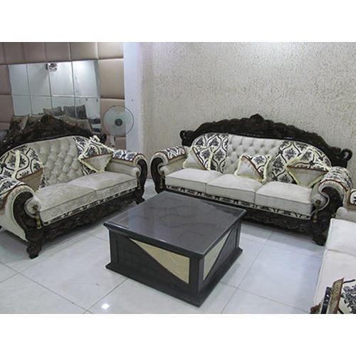 Wood And Rexine 5 Seater Designer Sofa Set, Rs 40000 /set | ID