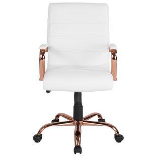 White Desk Chairs You'll Love   Wayfair