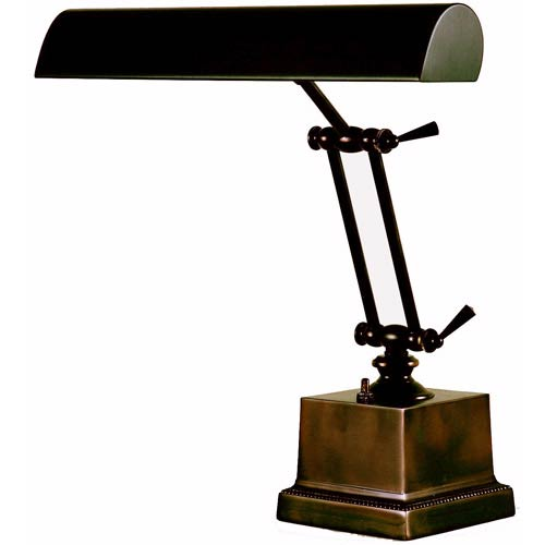 House Of Troy Mahogany Bronze 14 Inch Adjustable Desk/Piano Lamp P14