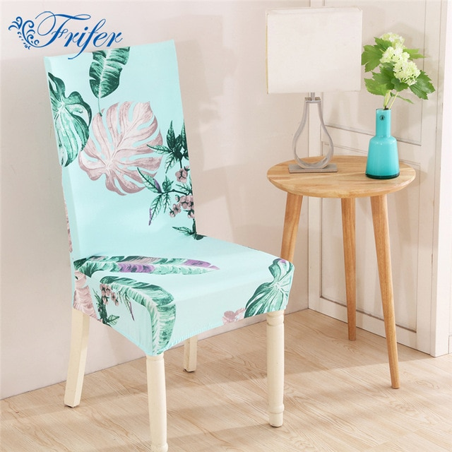 Universal Home Dining Chair Cover Spandex Removable Slipcovers