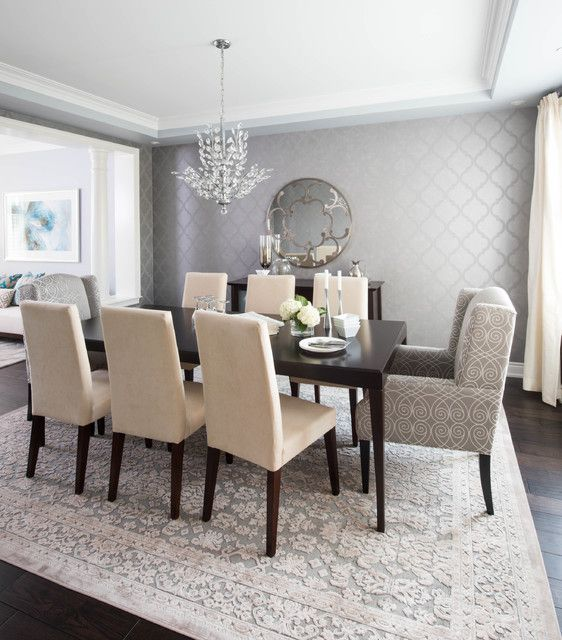Dining Room Wallpaper 19 Graceful Dining Room Designs To Serve You