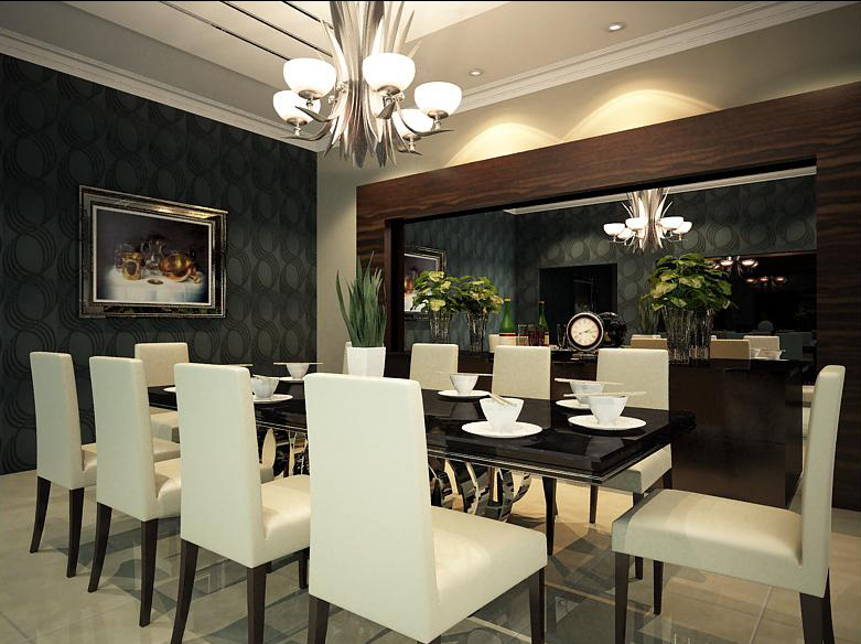 Dining Room Designs Inspired by China Patterns