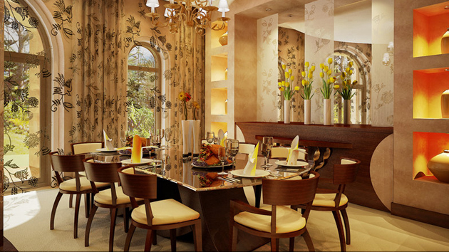 20 Fabulously Attractive Classical Dining Room Designs   Home Design