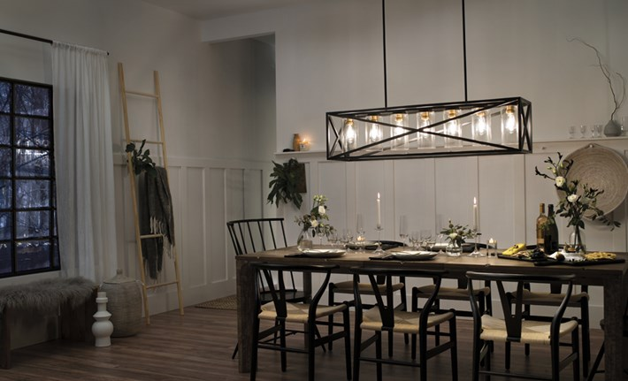 Dining room lighting with dining light fixtures with kitchen table