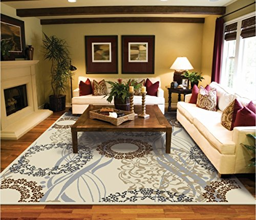Amazon.com: Large Area Rugs 8x11 Dining Room Rugs for Hardwood