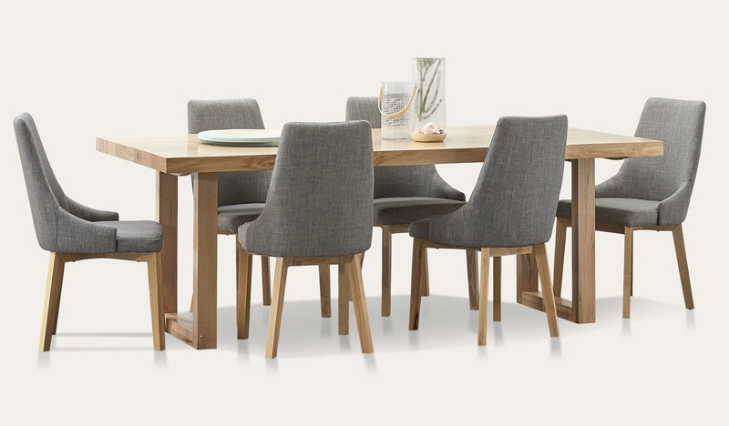 Kennedy dining suite with Benson chairs - Focus on Furniture