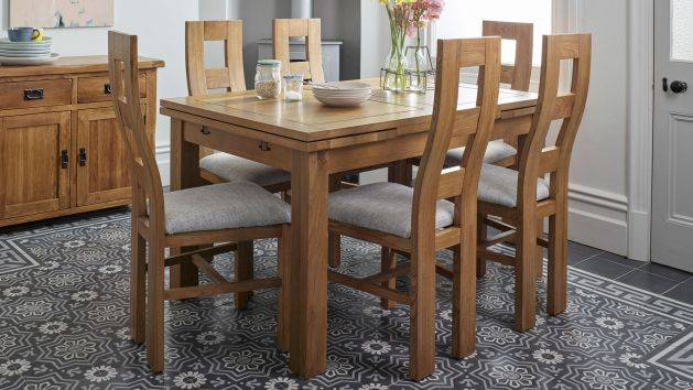 Oak Dining Table and Chairs | Dining Table Sets | Oak Furnitureland