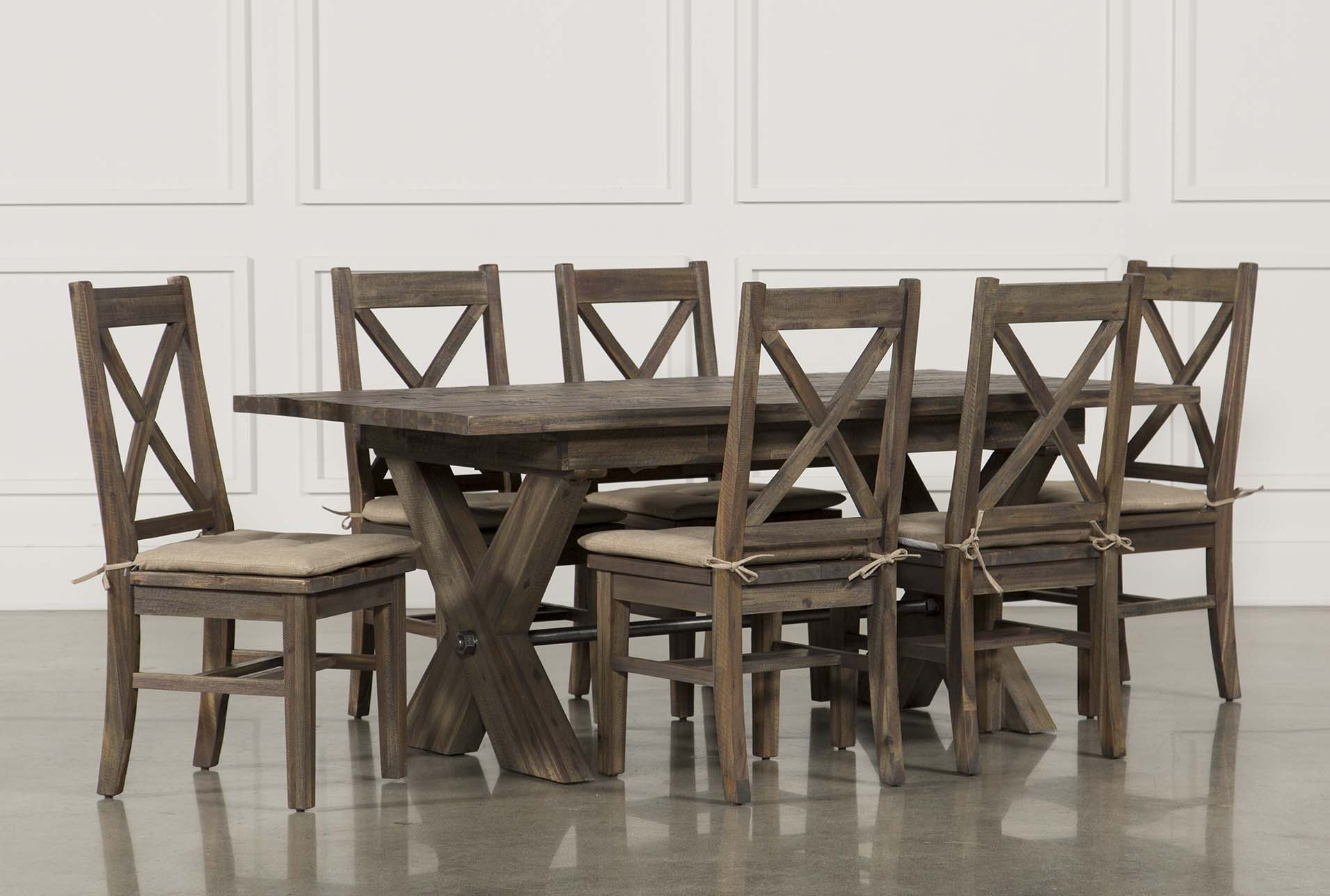 Mallard 7 Piece Extension Dining Set | Living Spaces