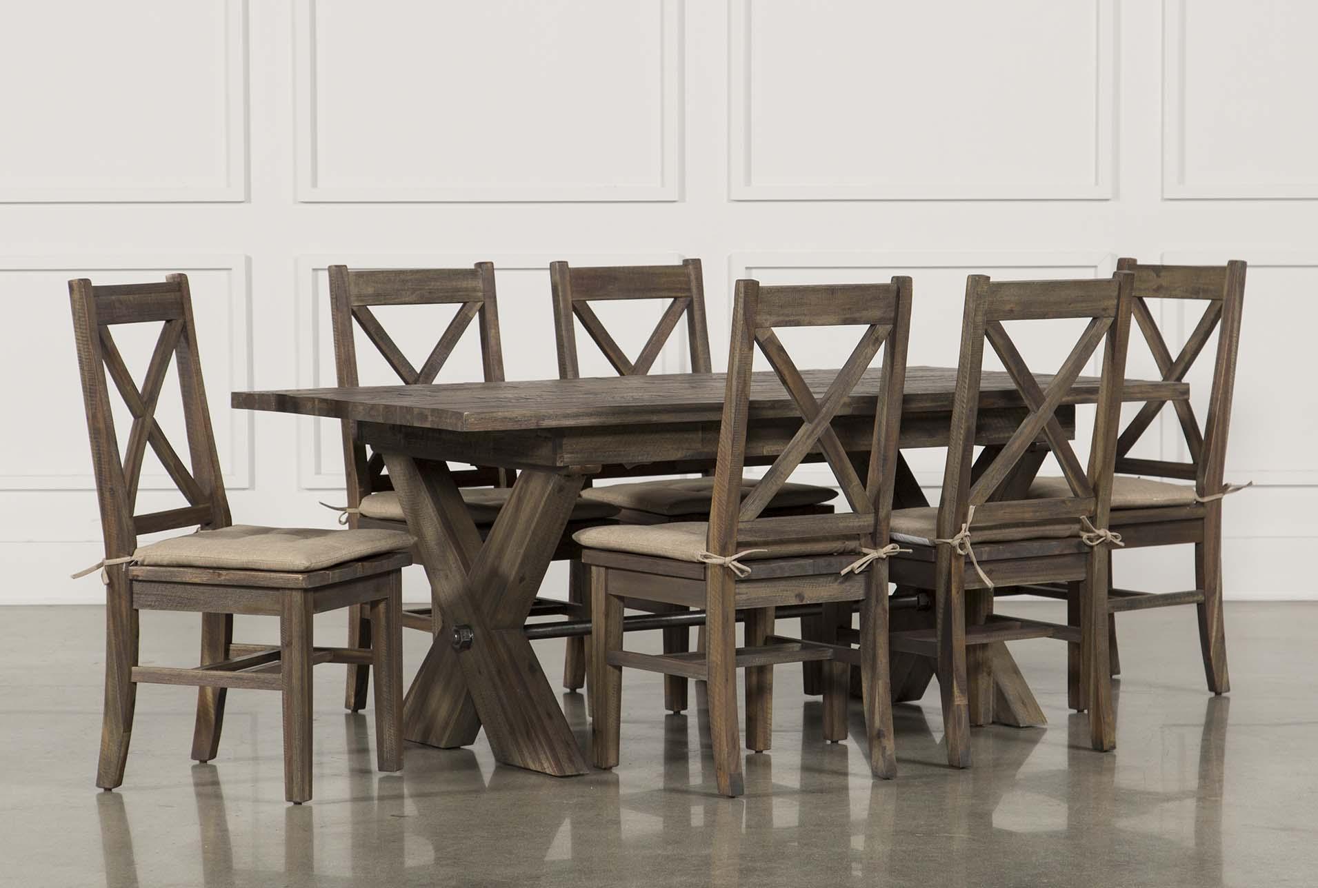 Mallard 7 Piece Extension Dining Set | Living Spaces