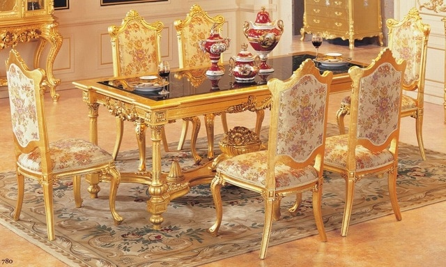 luxury dining table set dining table with 6 chairs wooden dining