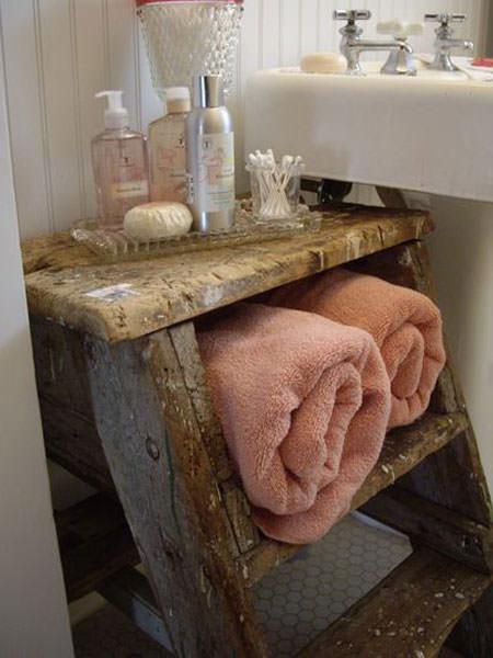 Great DIY Bathroom Towel Storage Ideas 5 - Diy and Crafts Home