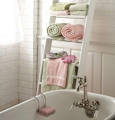 Great DIY Bathroom Towel Storage Ideas 2 - Diy and Crafts Home