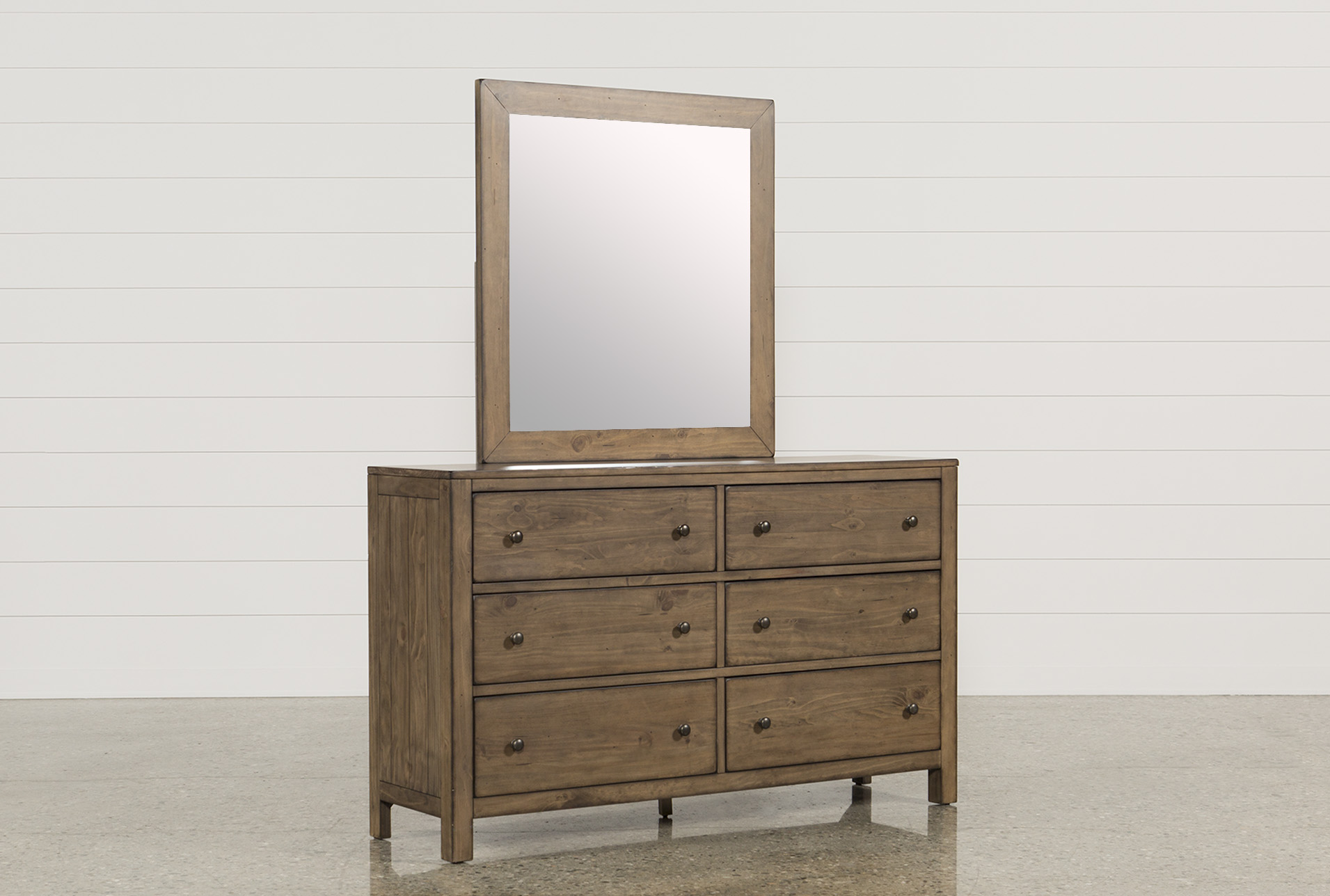 Brooke Dresser/Mirror | Living Spaces