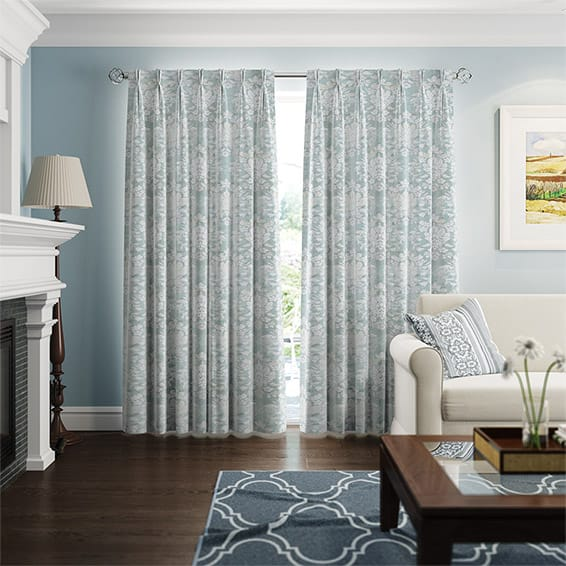 Duck Egg Blue Curtains 2go™, Save Up To 70% Off High Street Prices