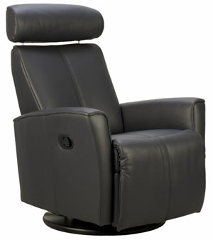 Fjords Atlantis Ergonomic Electric Recline Power Swing Recliner