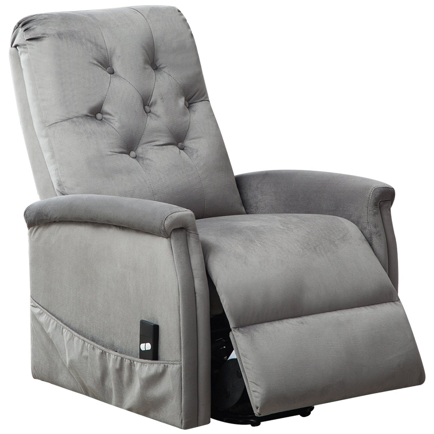 BONZY Power Lift Chair Tufted Recliners Living Room Electric Lifting