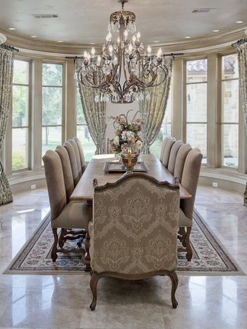 www.thedazzlinghome.com Gorgeous dining room | Dream Home