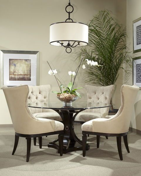 17 Classy Round Dining Table Design Ideas | BRITISH COLONIAL STYLE