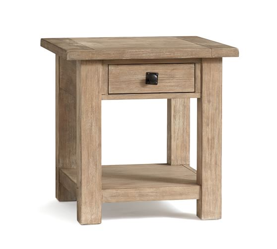 Benchwright Square End Table | Pottery Barn