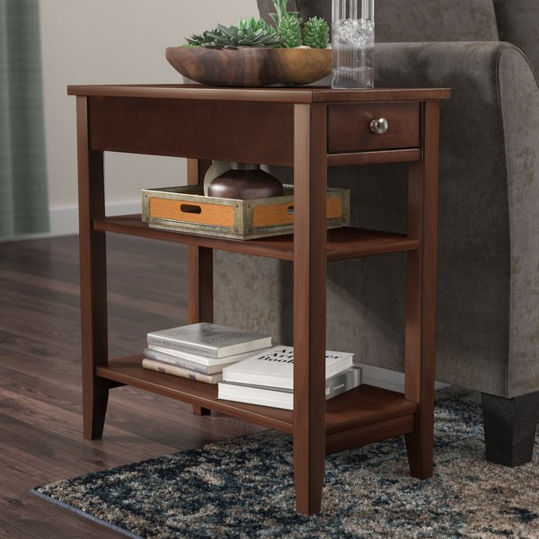 Three Posts Greenspan End Table With Storage & Reviews | Wayfair