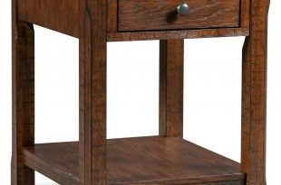 Sheffield Rectangular End Table - Walnut | Value City Furniture and